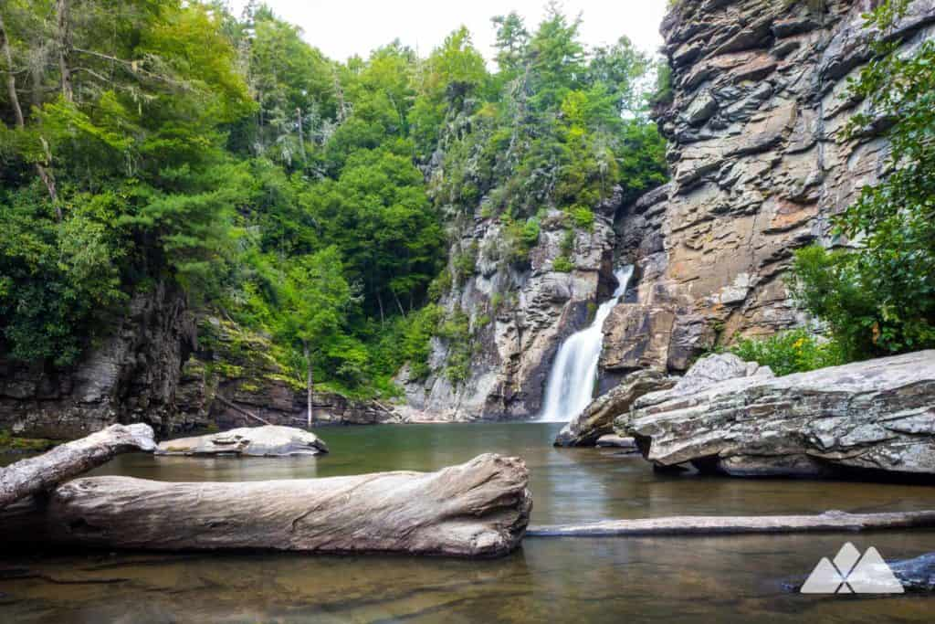Linville Gorge Waterfalls Plunge Basin Trail 03 1024x683